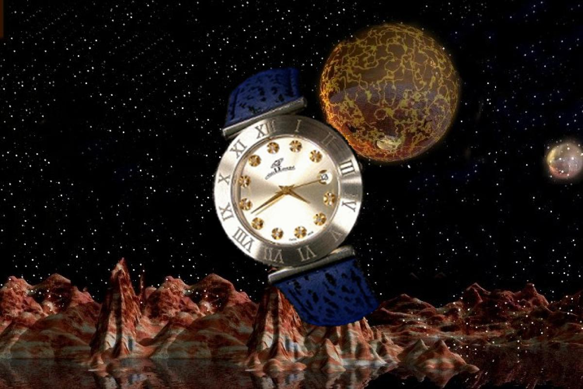 alain LE mondial Mens Wrist Watch Model Asterope
