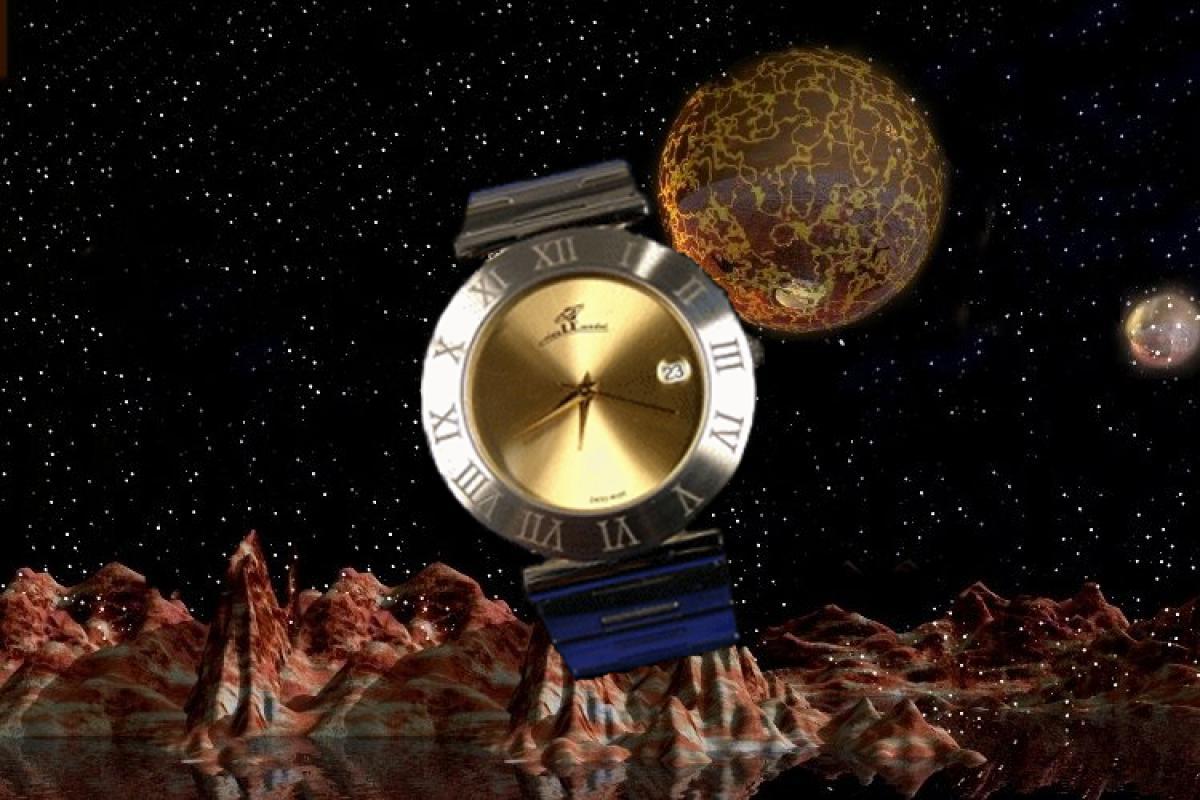 alain LE mondial Mens Wrist Watch Model Tabit