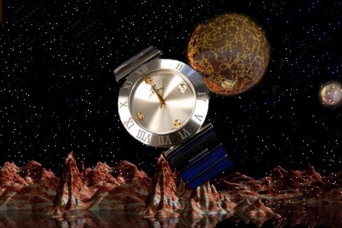 alain LE mondial Mens Wrist Watch Model Orion