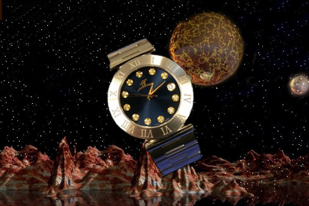 alain LE mondial Mens Wrist Watch Model Centaurus