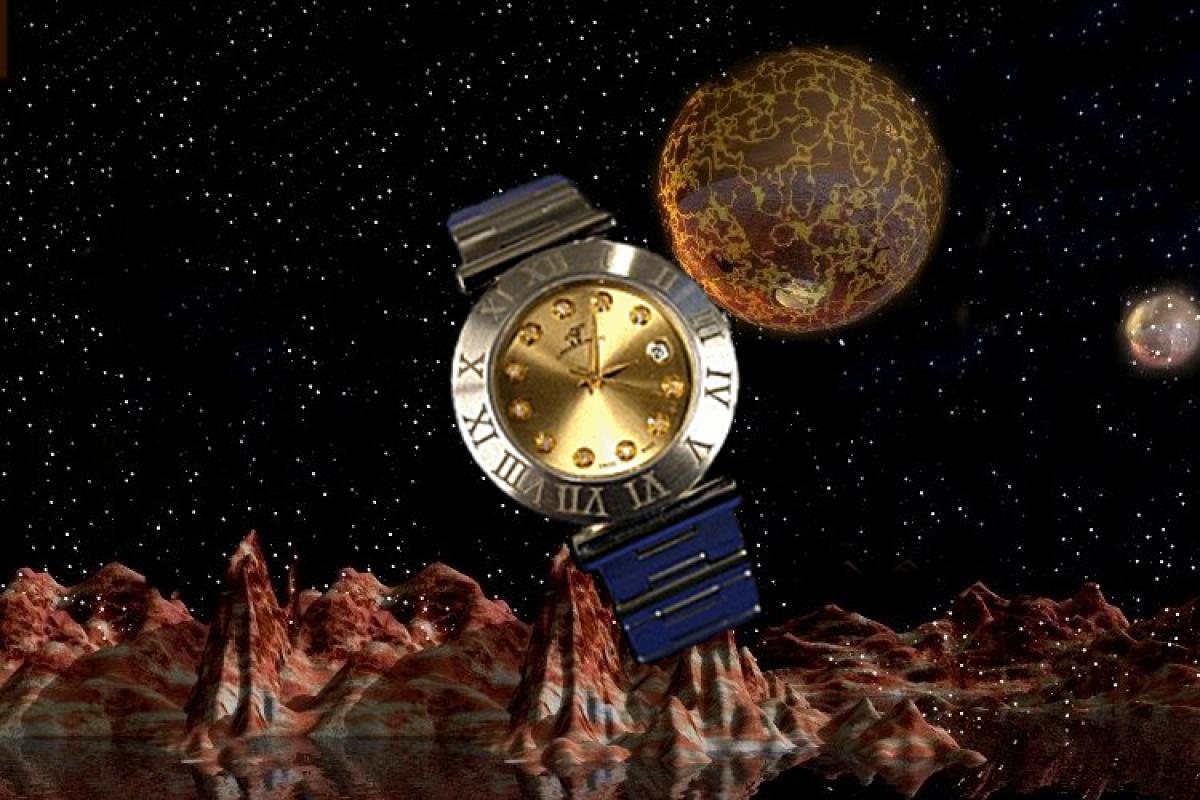 alain LE mondial Womens Wrist Watch Model Auriga