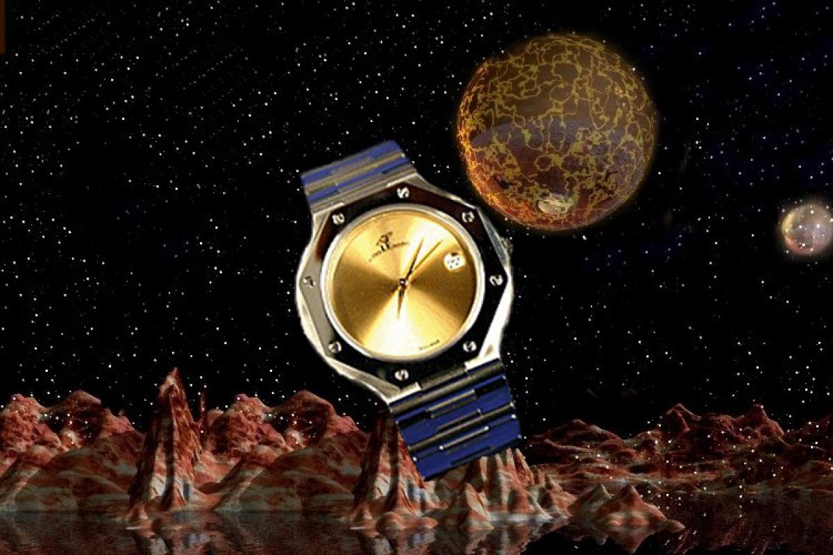 alain LE mondial Mens Wrist Watch Model Taurus