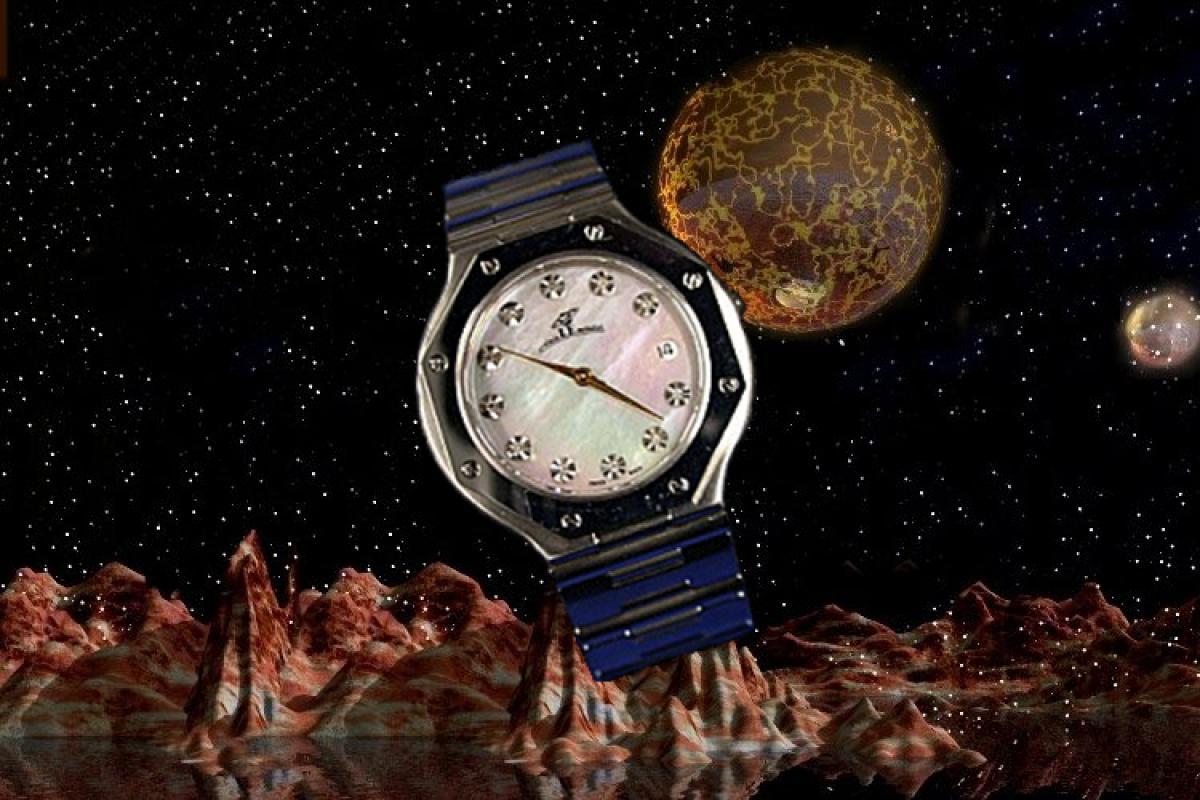 alain LE mondial Mens Wrist Watch Modell Taygeta