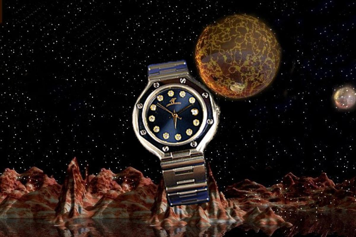 alain LE mondial Womens Wrist Watch Model Scutum