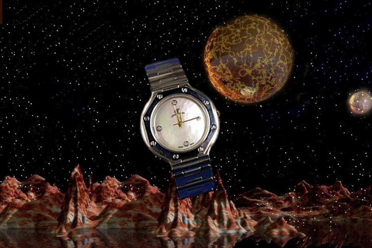 alain LE mondial Womens Wrist Watch Model Sagittarius