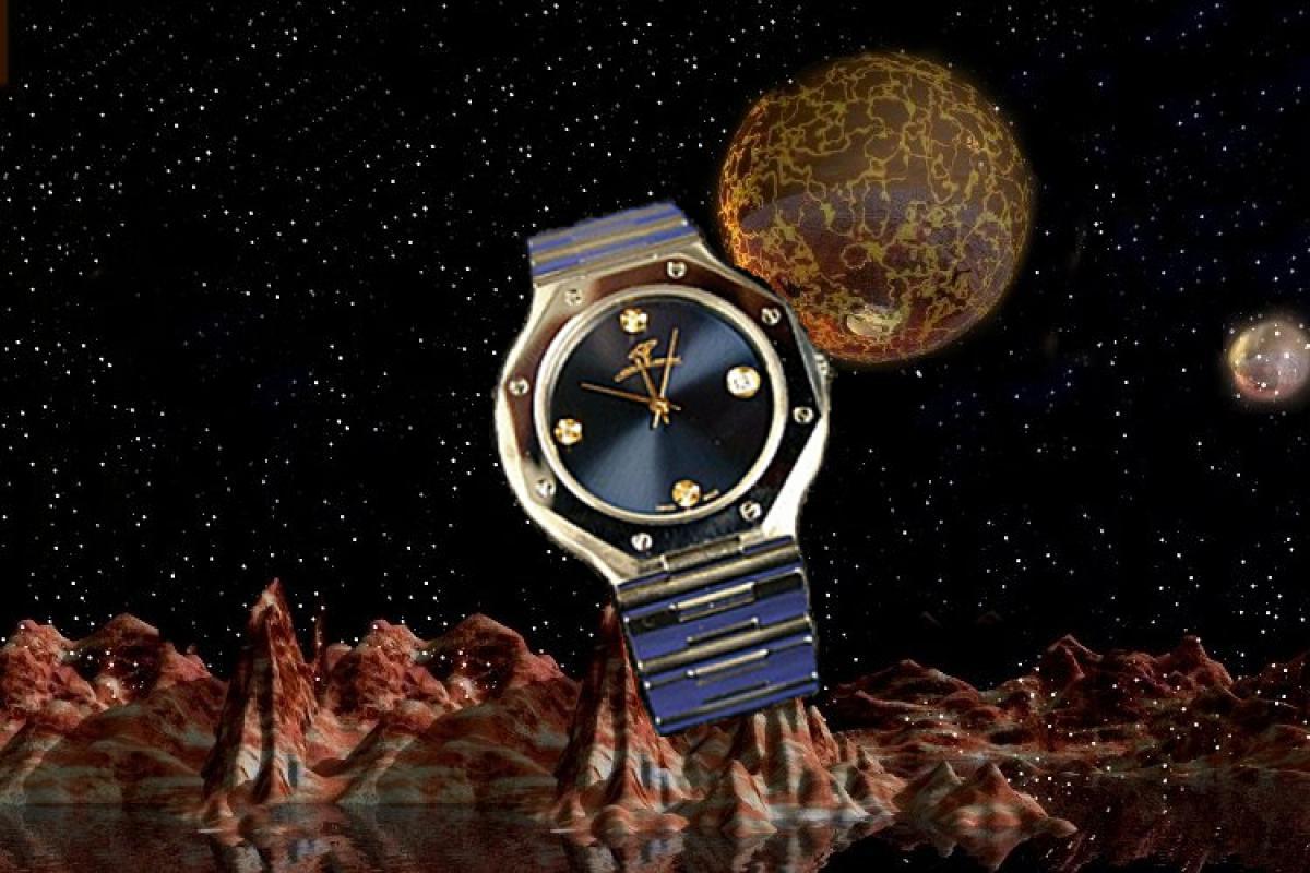 alain LE mondial Mens Wrist Watch Model Telesto