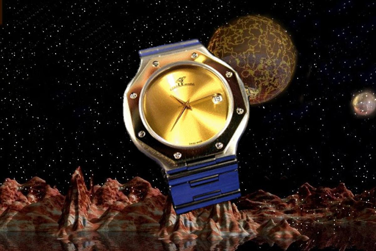 alain LE mondial Mens Wrist Watch Model Scorpius