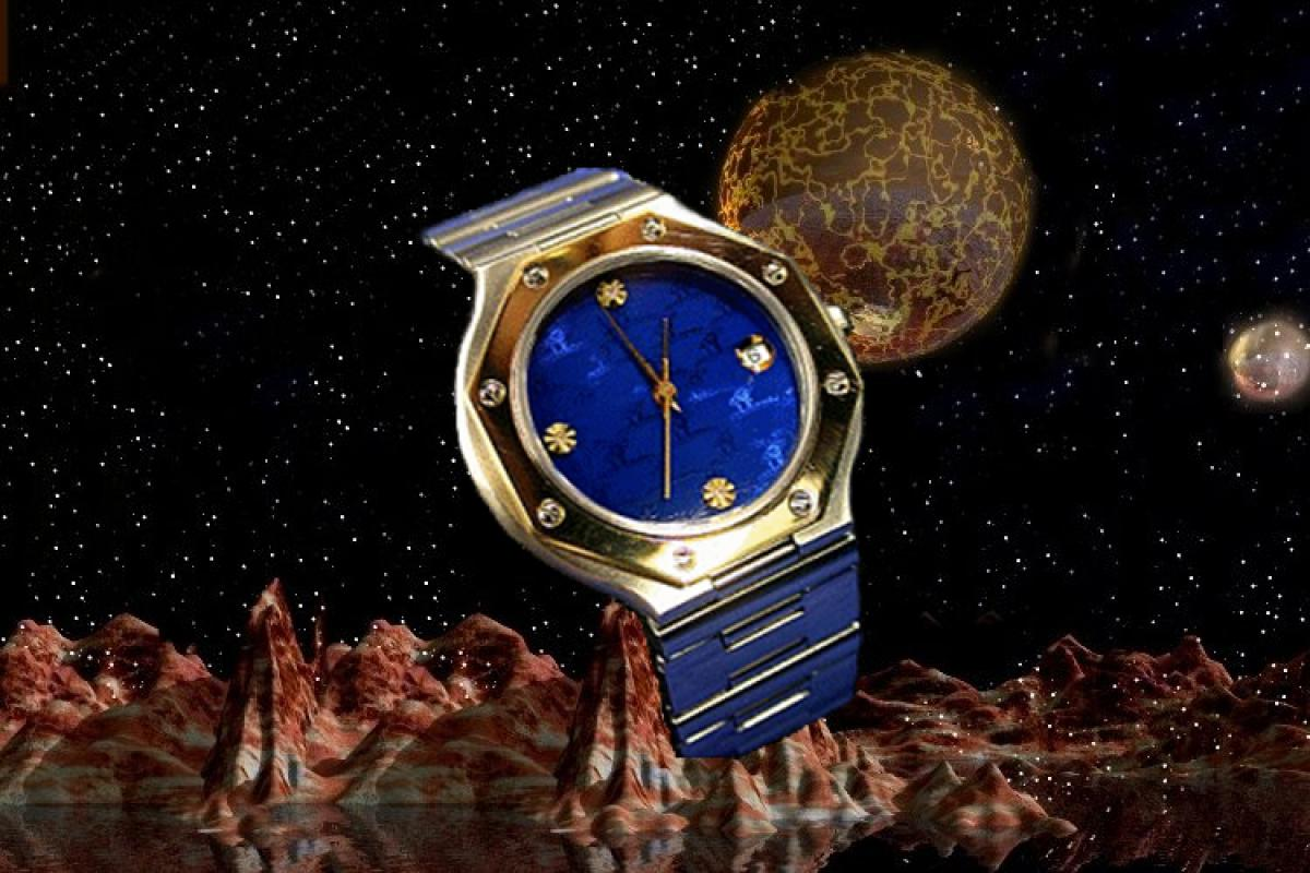 alain LE mondial Mens Wrist Watch Model Eridani