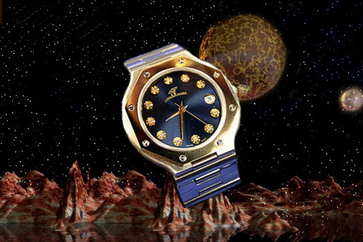 alain LE mondial Mens Wrist Watch Model Herkules