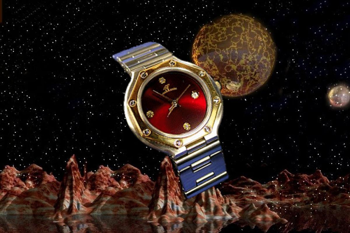 alain LE mondial Womens Wrist Watch Model Tychos