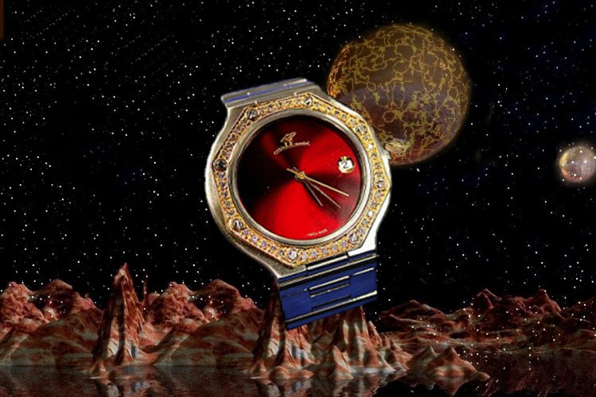 alain LE mondial Mens Wrist Watch Model Electra