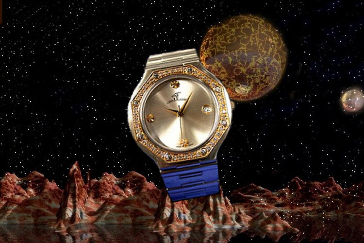 alain LE mondial Mens Wrist Watch Model Hyperion