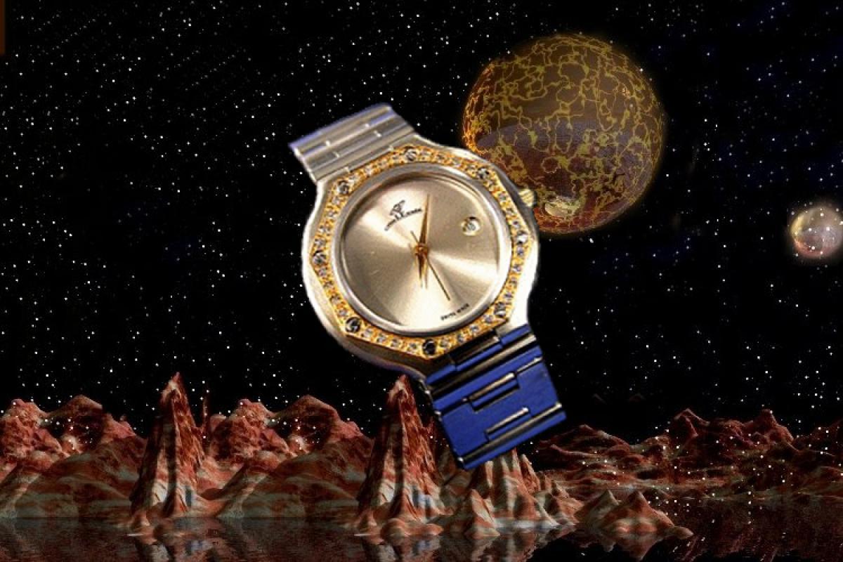 alain LE mondial Womens Wrist Watch Model Octantis