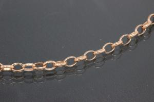 aLEm Necklace Infinity hammered 925/- Silver rosé gold plated