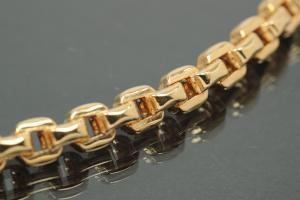aLEm Caribbian chain 750/-gold with turnable trigger clasp