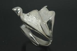 aLEm Ring Blossoms Calla by alain LE mondial 925/- Silver
