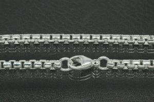 Caribbean Chain Necklace design approx. Ø3,4mm 925/- Silver solid with trigger clasp