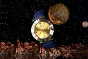 alain LE mondial Mens Wrist Watch Model Mizar