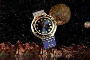alain LE mondial Womens Wrist Watch Model Caldera