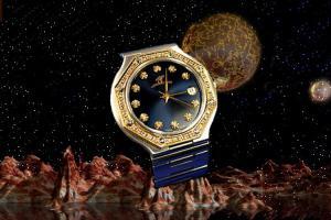 alain LE mondial Mens Wrist WatchModel Cassiopeia